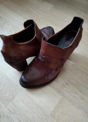 Эксклюзивные винтажные туфли pakros, италия