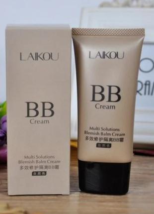 Тональный bb крем laikou multi solutions blemish balm cream, tan