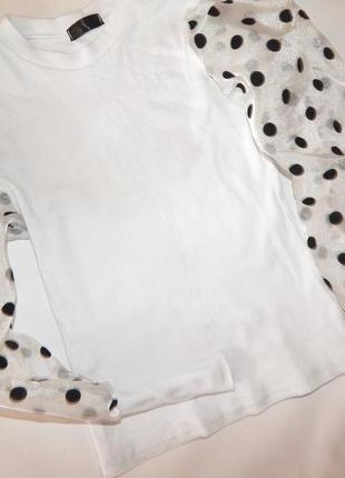 Актуальная блузка итальянская размер м2 фото