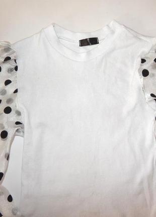 Актуальная блузка итальянская размер м4 фото