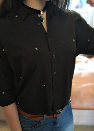 Рубашка zara свободного кроя ( при покупке до 27 мая сделаю скидку )