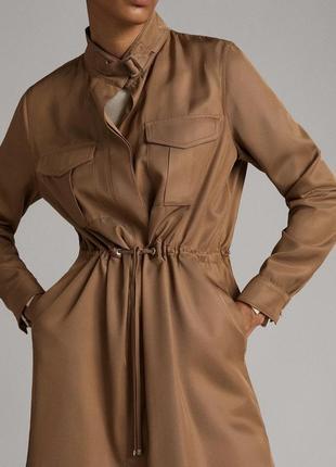 Рубашка платье massimo dutti