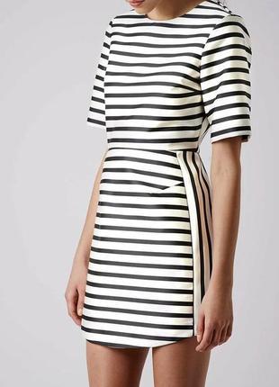 Атласное платье  topshop р. euro 38