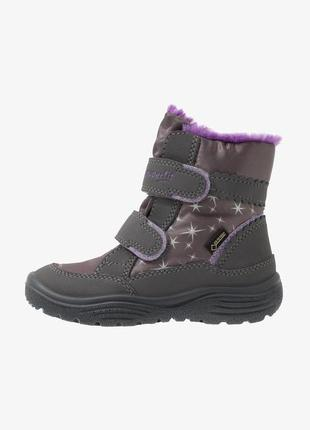 Зимние ботинки superfit crystal 28, 30 размер