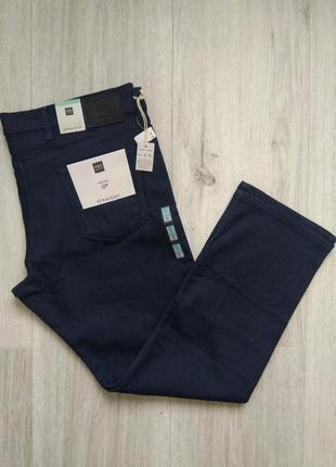 Джинсы мужские легкие темно-синие marks & spencer размер 42