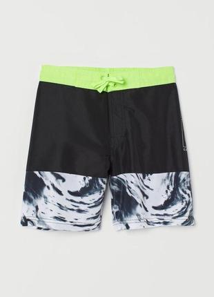 Пляжные шорты h&m р.146-152,158-164