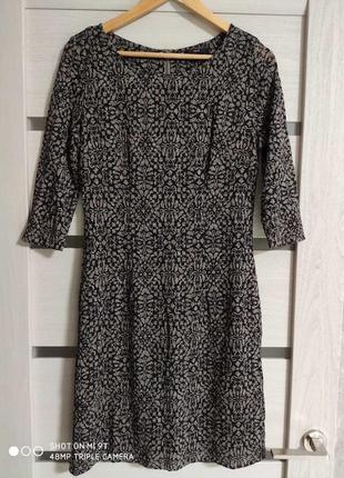 Шикарное платье рукав 3/4 разм.38 zero