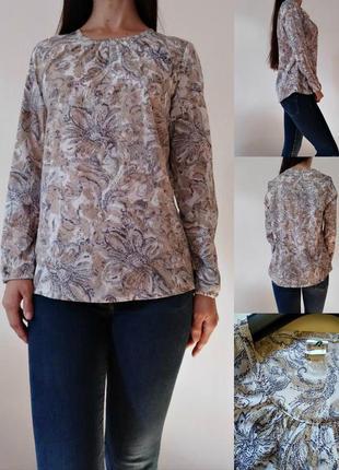 Блуза с длинными рукавами