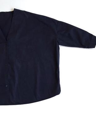 Хлопковая блуза cos рубашка5 фото