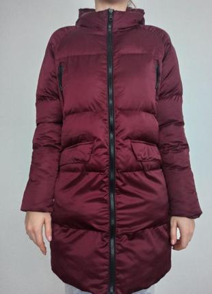 Зимове пальто пуховик staff