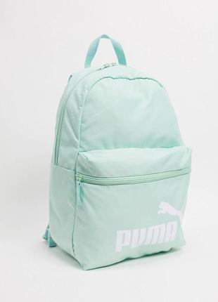 Мятный рюкзак puma