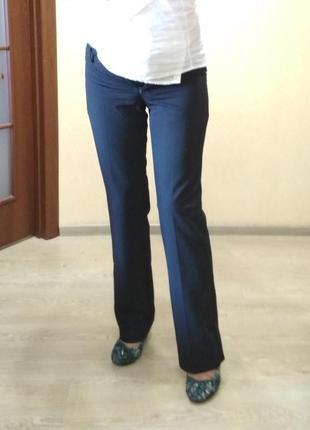 Женские классические брюки #  женские штаны #  офисные брюки  в мелкую полоску