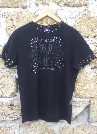 Эксклюзивная оригинальная футболка премиум бренда versace jeans couture