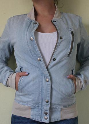 Оригинальнальна джинсовая куртка nike sportwear denim jacket