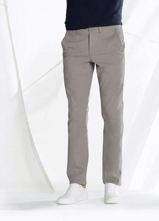 Стильние фирменние штани брюки чиноси от немецкого бренда livergy 56р