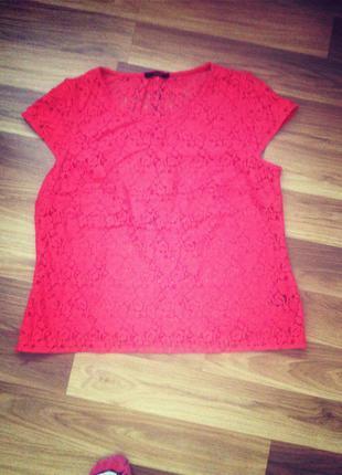 Блузка в стильне кружево