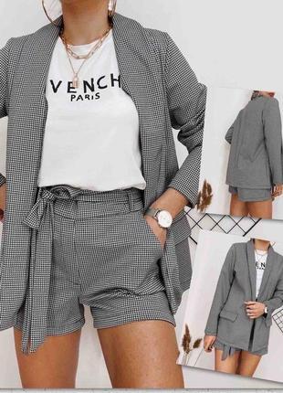Костюм шорты+пиджак