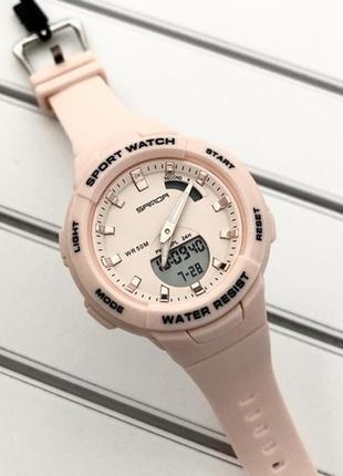 Часы sanda 6005 pink