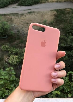 Чехол на iphone 7 plus/8 plus( silicone case)