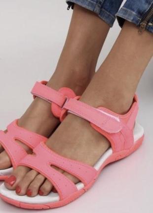 Неоновые яркие босоножки спортивные сандали сандалии 26,5 см