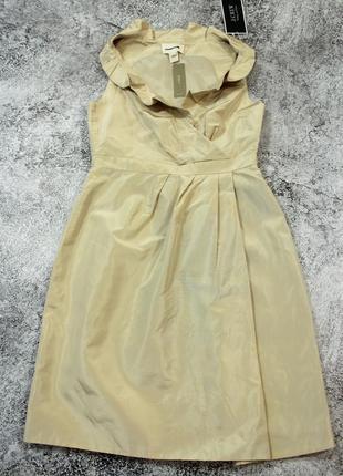 Шелковое платье j.crew xxs-xs