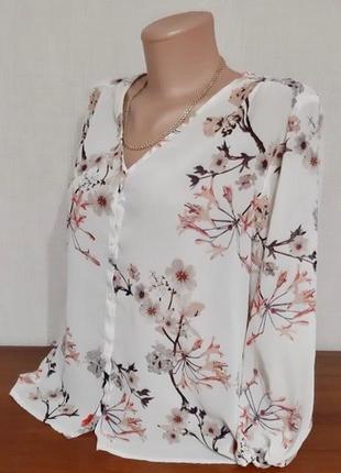 Шикарная шифоновая блузка!