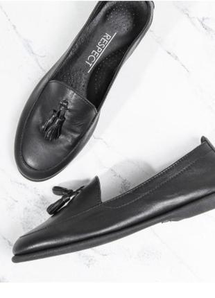 Очень мягенькие туфли respect