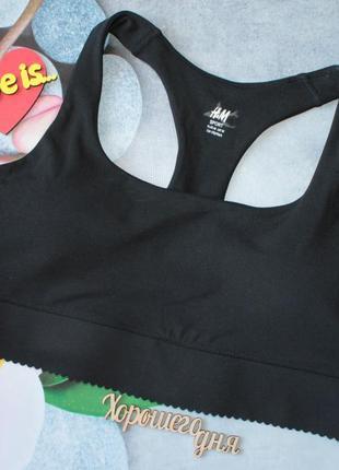 Новый спортивный топ для девочки h&m из текущей коллекции. размер 10-14 лет