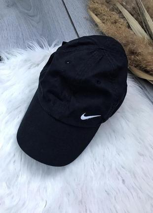 🔥акция 1+1=3🔥 nike найк оригинал кепка чёрная базовая кепка унисекс
