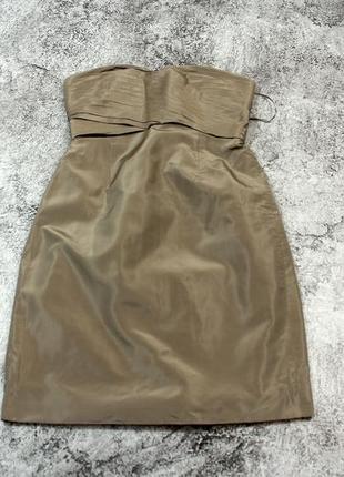 Шелковое платье j.crew (usa) оригинал s