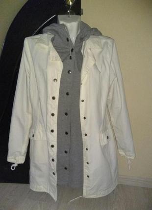 "Двойная верхняя одежда от ""checkers"" , толстовка, куртка, реглан, s"