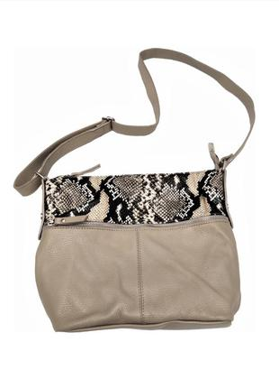 Модная кожаная сумка vera pelle  /2415/