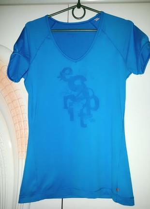 """Брендовая футболка для спорта """"espirit"""",original"""