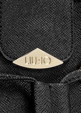 Сумка-мешок liu jo затягивается шнурком.