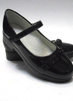 Туфли школьные р.33 и 35.