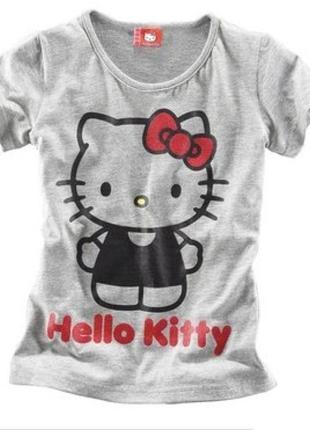 модненькая футболочка HELLO KITTY