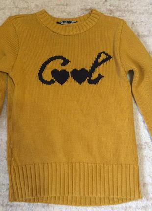 Теплый свитер zara
