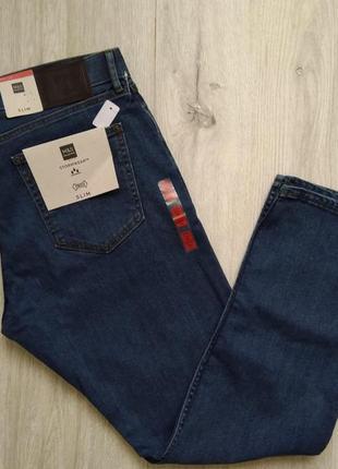 Джинсы мужские синие marks & spencer размер 36