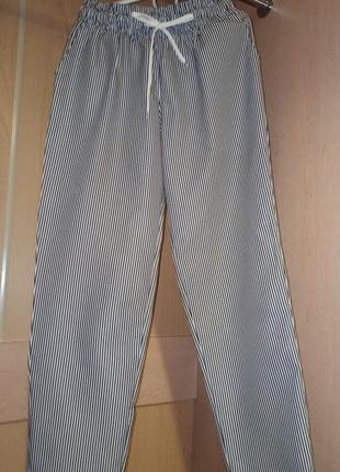 Летние штаны в полоску