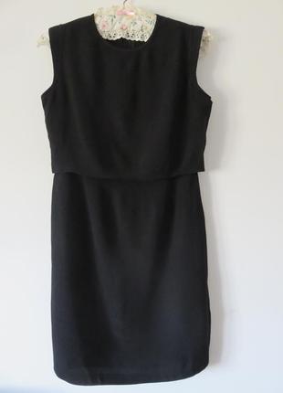 Маленьке чорне плаття massimo dutti
