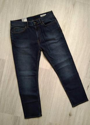 Стильные качественные мужские джинсы marks & spencer размер w34/l29 tappered