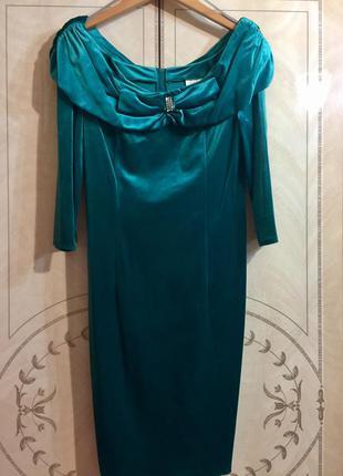 Платье бархатное gw