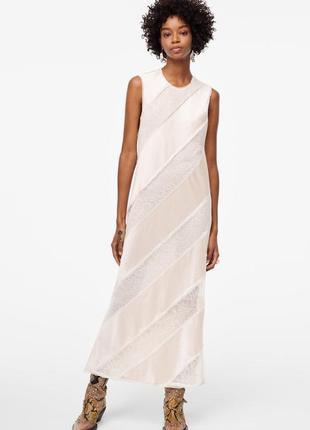 Платье с диагональными полосами, лимитированная коллекция