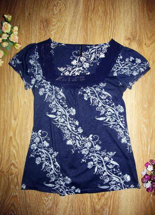 Нежная блуза-футболка от marks&spencer р.14
