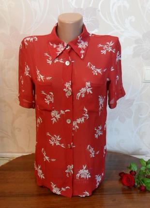 Красная блуза globus essentials