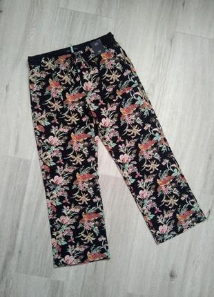 Женские летние штаны льняные брюки marks&spencer размер 10 (38), 12, (40), 16 (44) лен 55%