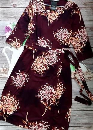 Стильное платье на запах вискоза