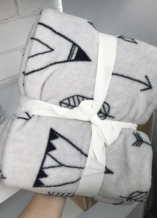 Детский плед одеяло покрывало 130/160