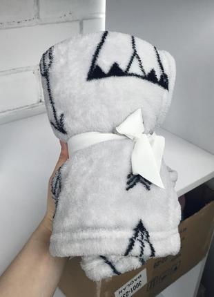 Детский плед одеяло покрывало 70/100