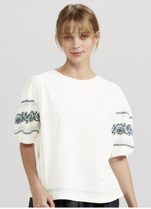 Блуза футболка топ uniqlo япония р.s-m